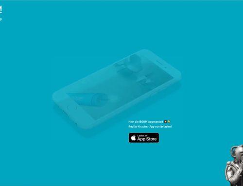 Kracher App Landingpage